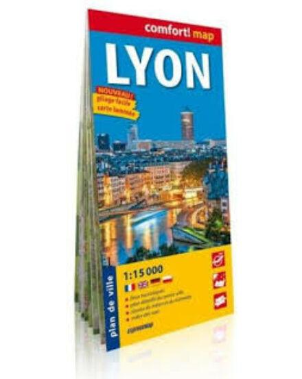 Cartographia  - Lyon Comfort várostérkép