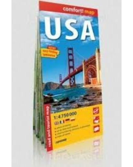 Cartographia  - USA Comfort térkép
