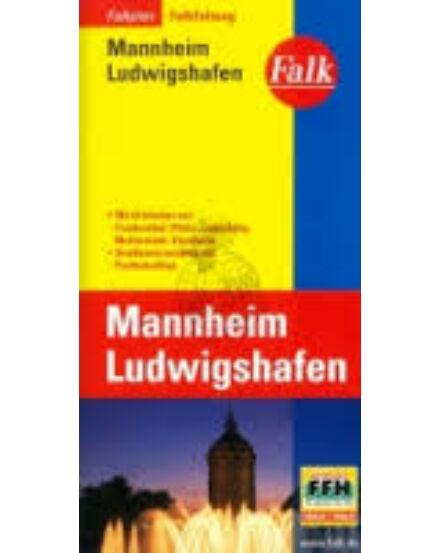 Cartographia  - Mannheim, Ludwigshafen térkép (Falkfaltung)