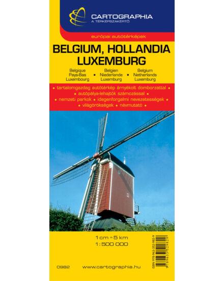 Cartographia  - Benelux térkép