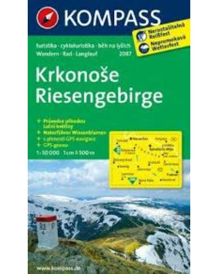 Cartographia  - K 2087 Krkonose (Óriás-hegység) turistatérkép