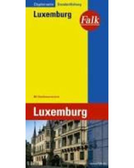 Cartographia  - Luxemburg extra várostérkép