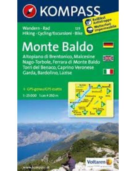 Cartographia  - K 129 Monte Baldo turistatérkép