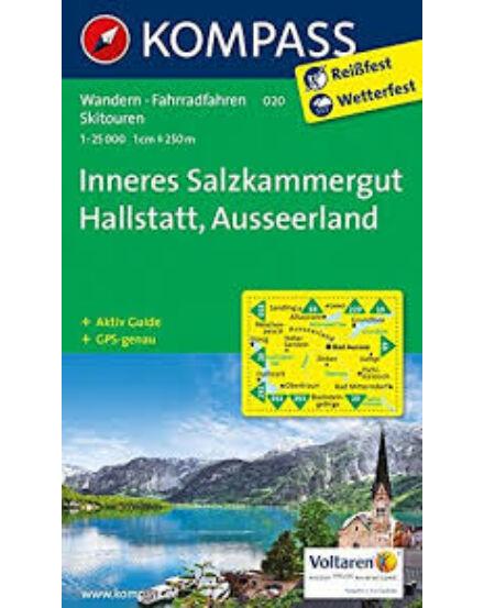 Cartographia  - K 020 Inneres Salzkammergut, Ausseerland turistatérkép