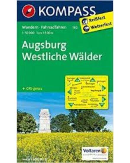 Cartographia  - K 162 Augsburg, Nyugati-Erdők turistatérkép