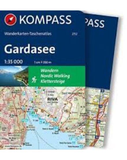 Cartographia  - K 2752 Garda-tó zsebatlasz