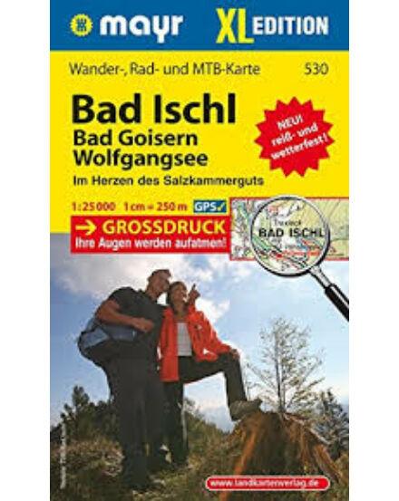 Cartographia  - K 530 Bad Ischl - Bad Goisern - Wolfgangsee turistatérkép