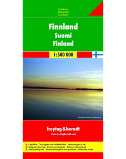 Cartographia  - Finnország térkép