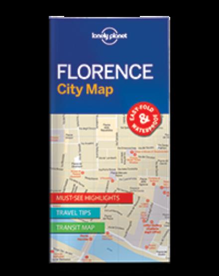 Cartographia  - Firenze laminált térkép Lonely Planet