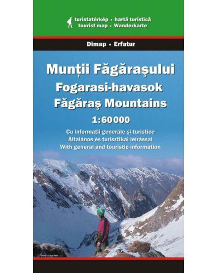 Cartographia  - Fogarasi-havasok turistatérkép