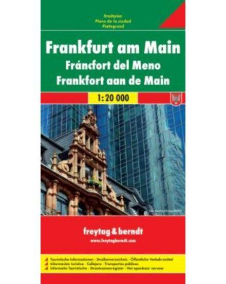 Cartographia  - Frankfurt am Main várostérkép