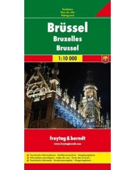Cartographia  - Brüsszel várostérkép PL119