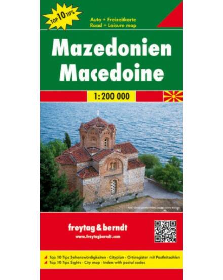 Cartographia  - Macedónia térkép