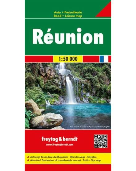 Cartographia  - Réunion térkép