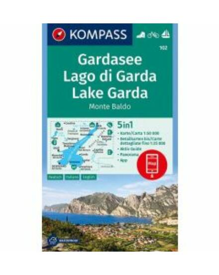 Cartographia  - Garda-tó turistatérkép