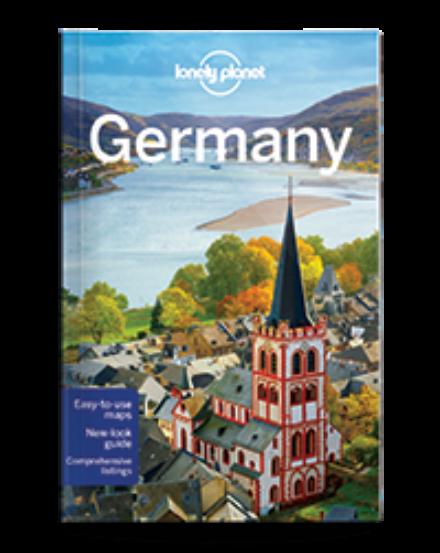 Cartographia  - Németország útikönyv (angol) Lonely Planet