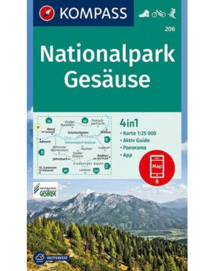 Cartographia  - K 206 Gesäuse Nemzeti Park turistatérkép
