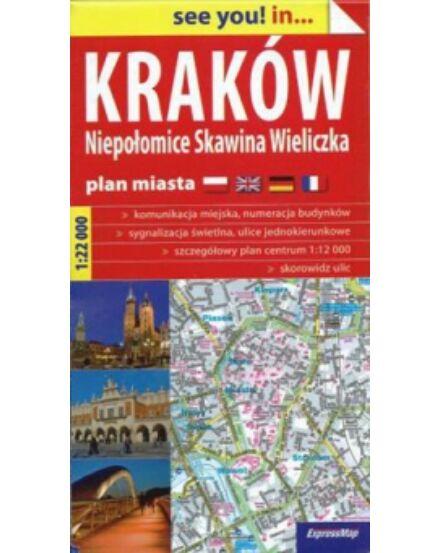Cartographia  - Krakkó várostérkép