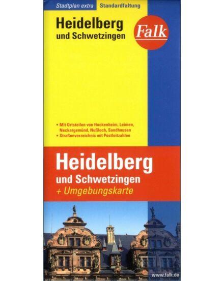 Cartographia  - Heidelberg és Schwetzingen (Extra) várostérkép