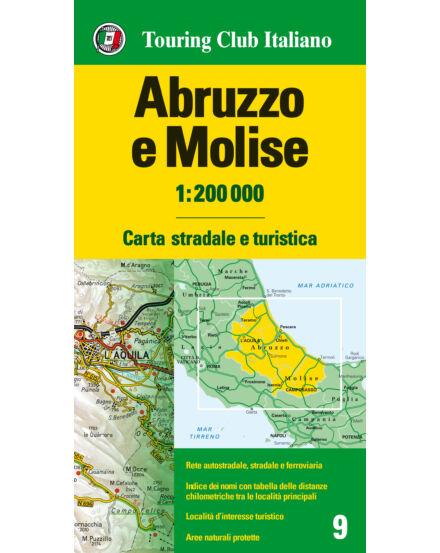Cartographia  - Abruzzo e Molise régiótérkép