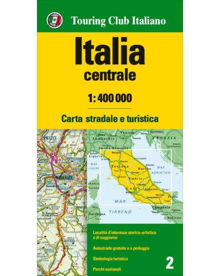 Cartographia  - Közép-Olaszország autótérkép