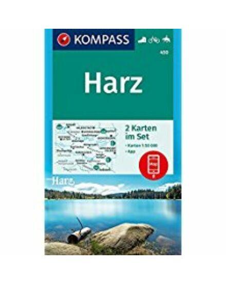 Cartographia  - K 450 Harz turistatérkép