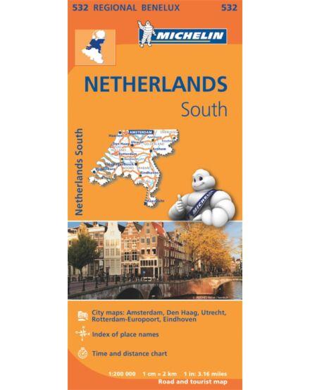 Cartographia  - Hollandia dél térkép