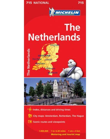 Cartographia  - Hollandia térkép - Michelin 715