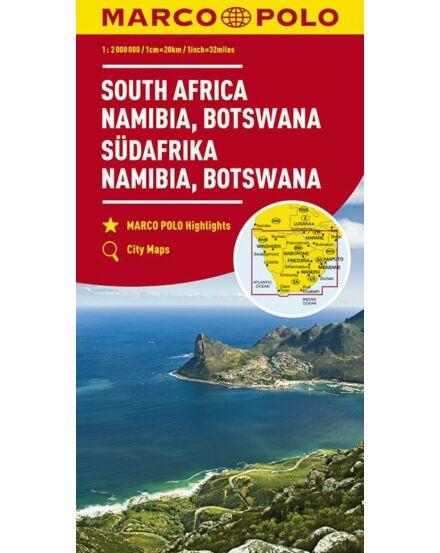 Cartographia  - Dél-Afrika, Namíbia, Botswana térkép