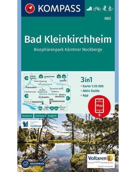 Cartographia  - K 063 Bad Kleinkirchheim turistatérkép