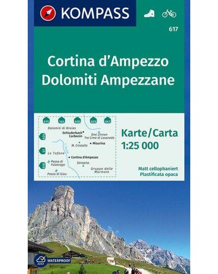 Cartographia  - Cortina d'Ampezzo / Dolomiti Ampezzane turistatérkép