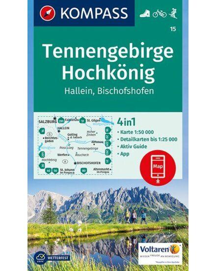 Cartographia  - Tennengebirge - Hochkönig - Hallein - Bischofshofen