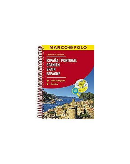 Cartographia  - Spanyolország és Portugália atlasz