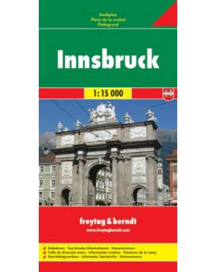 Cartographia  - Innsbruck várostérkép