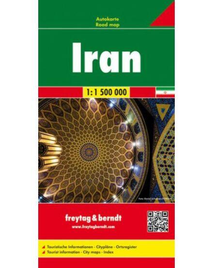 Cartographia  - Irán térkép