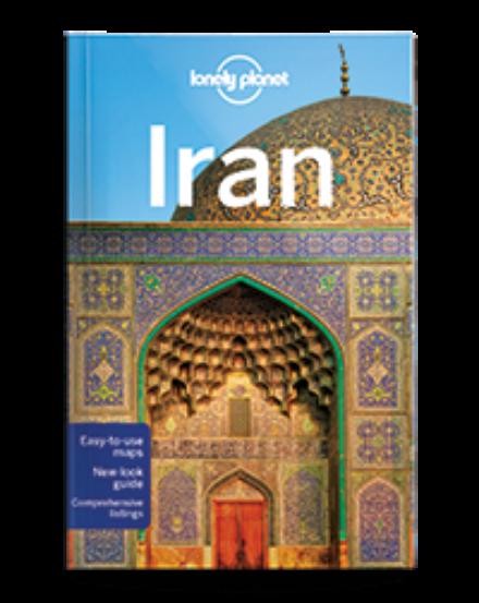 Cartographia  - Irán útikönyv Lonely Planet