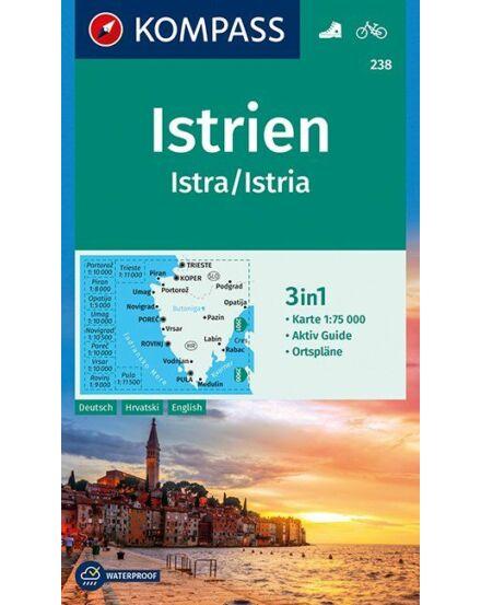 Cartographia  - Isztria turistatérkép