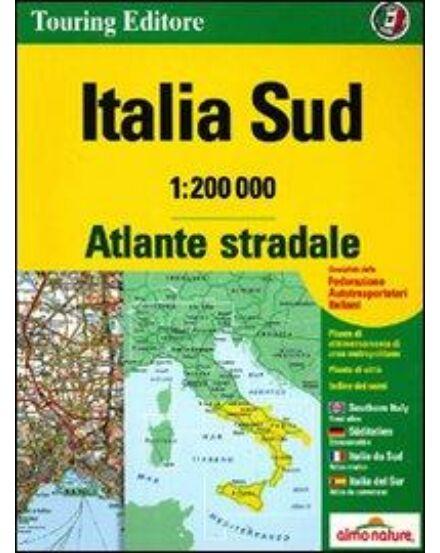 Cartographia  - Dél-Olaszország atlasz