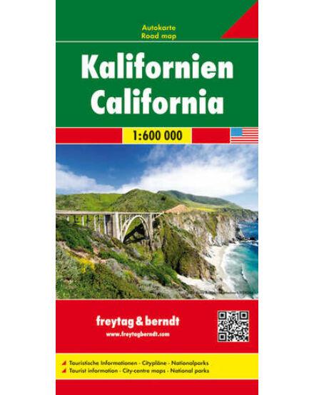 Cartographia  - Kalifornia térkép