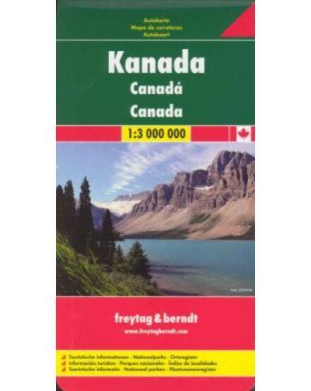 Cartographia  - Kanada térkép