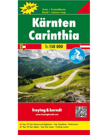 Cartographia  - Karintia térkép