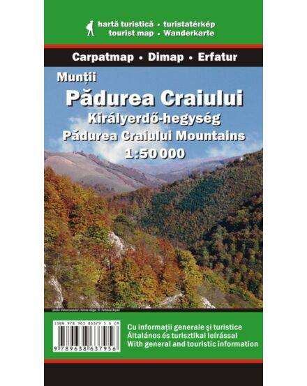 Cartographia  - Királyerdő-hegység turistatérkép