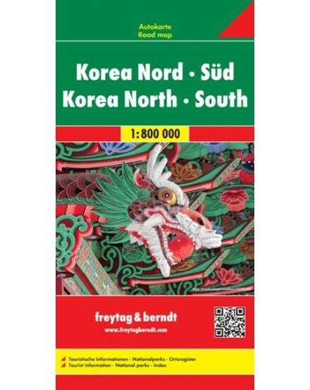 Cartographia  - Korea térkép
