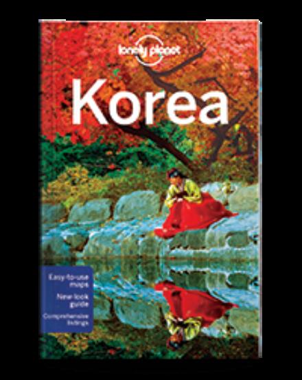 Cartographia  - Korea útikönyv (angol) Lonely Planet