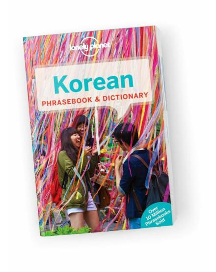 Cartographia  - Koreai útiszótár (Phrasebook) Lonely Planet