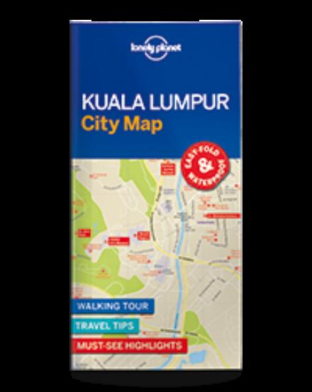 Cartographia  - Kuala Lumpur laminált térkép Lonely Planet