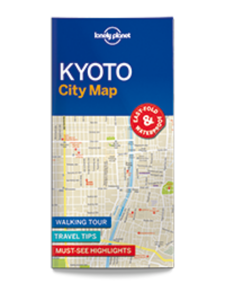 Cartographia  - Kyoto laminált térkép