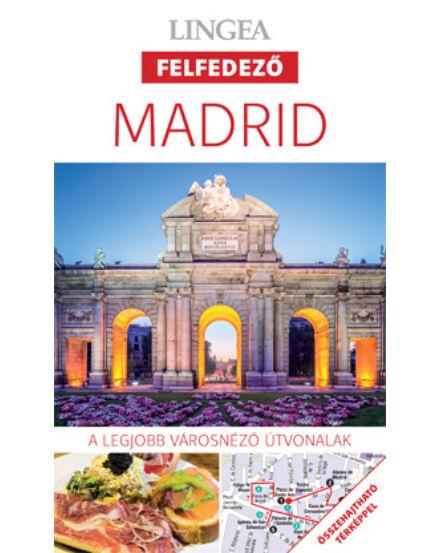 Cartographia  - Madrid felfedező útikönyv térképmelléklettel