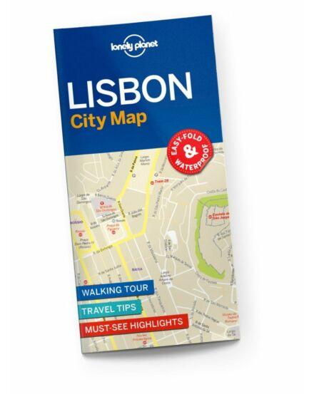 Cartographia  - Lisszabon laminált térkép Lonely Planet