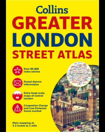 Cartographia  - London atlasz 2016 Harper Collins